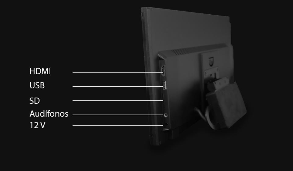 """Conexiones CarPad android rothmann de 12.5"""""""