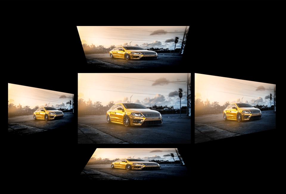 Disfruta de las imagenes desde cualquier lado con nuestro panel ips